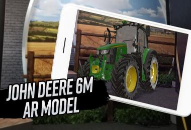 Try the John Deere 6M in Augmented Reality!