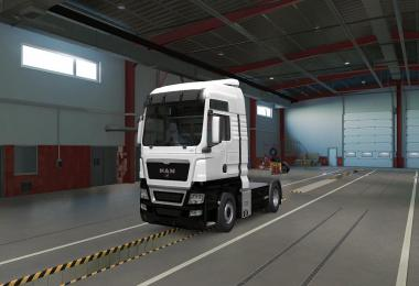 Two Tone Paint for MAN TGX 1.38