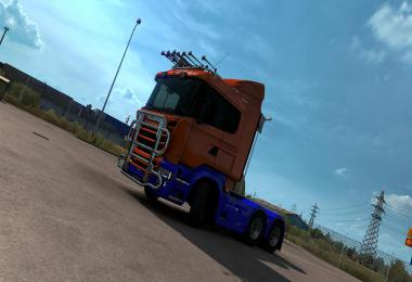 Two Tone Paint for RJL Scania R & Streamline 1.38