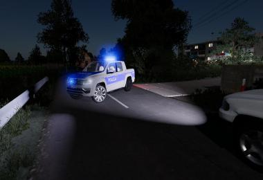 Volkswagen Amarok radiowoz policji v2.0