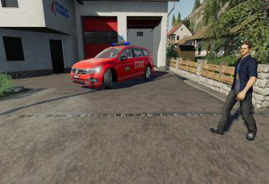 Volkswagen Passat Policja Straz Pozarna i SOK v2.0