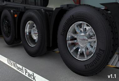 Wheel pack from ATS for ETS2 1.11
