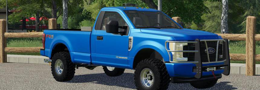 2019 Ford Super Duty Single Cab v1,0,0,0