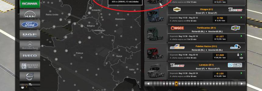 Quick Jobs for Scania P-4 series 1.39