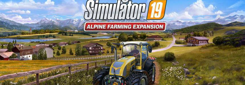 Alpine Ready: Patch 7 out now for FS19 v1.0.0.0