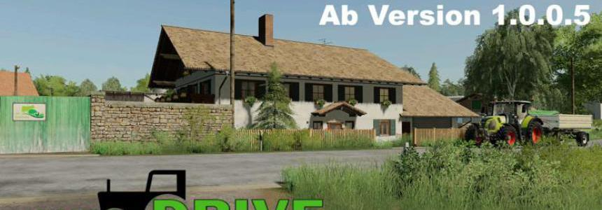 AutoDrive route network Hof Bergmann from v1.0.0.5