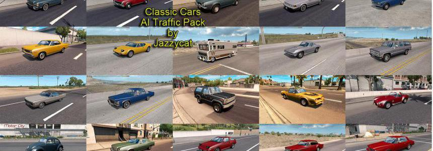 Classic Cars AI Traffic Pack by Jazzycat v5.5