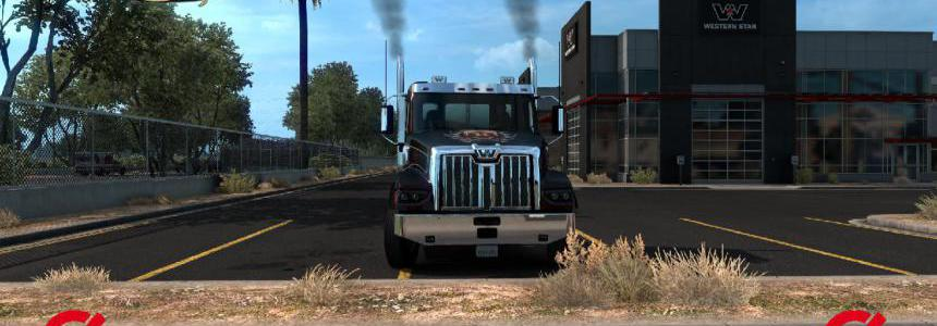 Exhaust Smoke for ATS 1.39