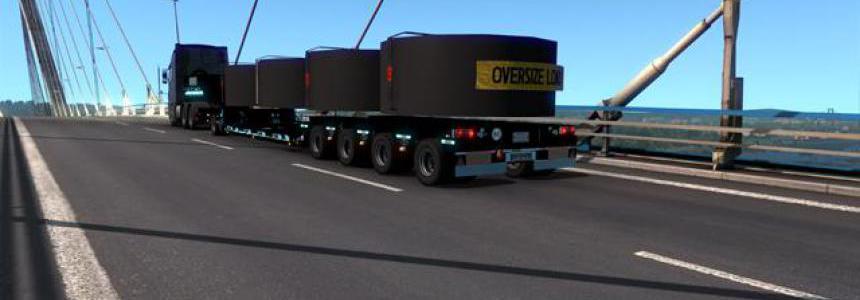Goldhofer black trailer v1.0