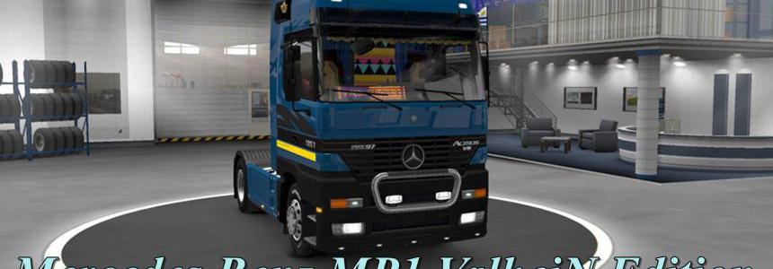 Mercedes Actros MP1 by ValheinXL v1.2 1.39