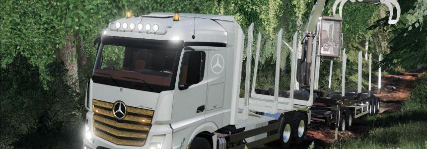 Mercedes Benz Actros Forstaufbau v1.0
