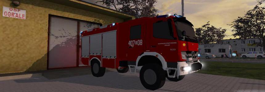 Mercedes Benz Atego 1629 AF 4x4 / Bocar - OSP Czeladz v3.0