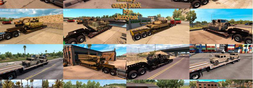 Military Cargo Pack by Jazzycat v1.3.3