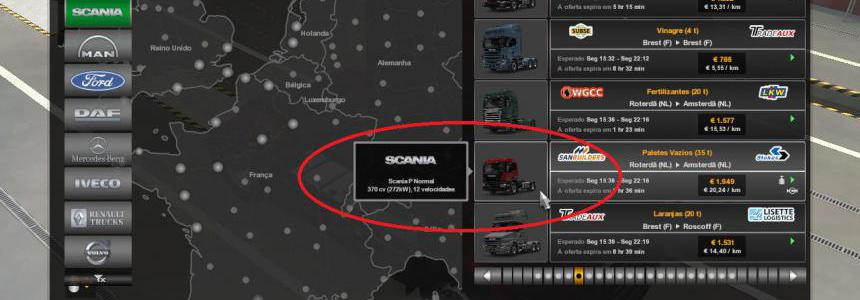 Quick Jobs for Scania P 1.39