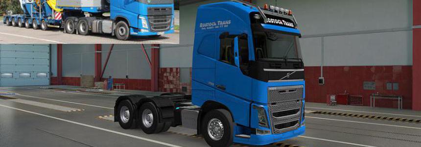 Rostock Trans Skin for Volvo FH16 2012 1.39