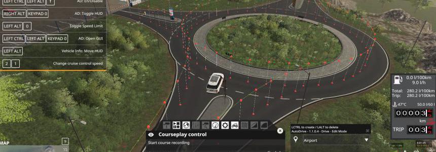 Sussex Farm AutoDrive network v1.0.0.0