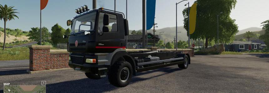 Tatra Phoenix T158 8x8 hooklift v3.0