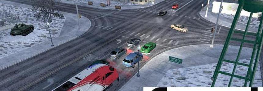 Trains Everywhere (Road Nightmare) Addon for Traffic Density by Cip 1.39