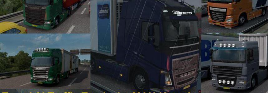 Tuned Trucks in AI Traffic v1.0 by MAN-Kutscher 1.39.x