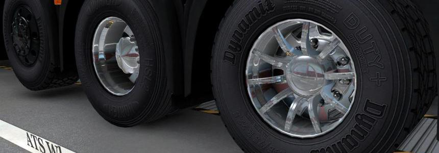 Wheel pack from ATS for ETS2 1.25