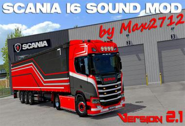 SCANIA NextGen I6 sound 1.39