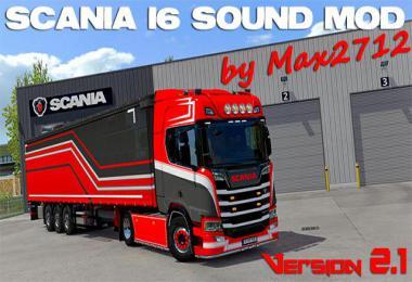 SCANIA NextGen I6 sound 1.39
