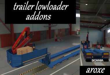 Addons trailer lowloader 1.39