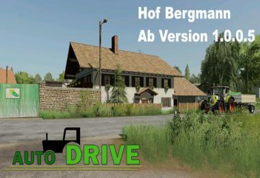 AutoDrive route network Hof Bergmann v1.4.0.0