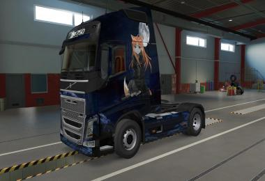 Dark Holo skin for the Volvo FH 1.39
