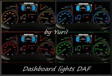 Dashboard Lights DAF v1.1