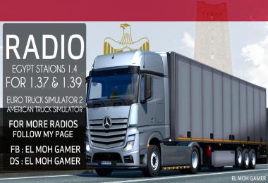 El Moh Gamer - Egypt Stations v1.4 - Sounds - ETS2 1.39
