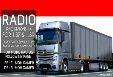 El Moh Gamer - Iraq Stations - Sounds - ETS2 1.39 v1.4