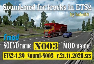 ETS2 Sound N003 1.39
