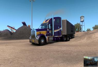 Freightliner Classic XL V2.0+ (BSA Revision) for ATS v1.39 v2.0