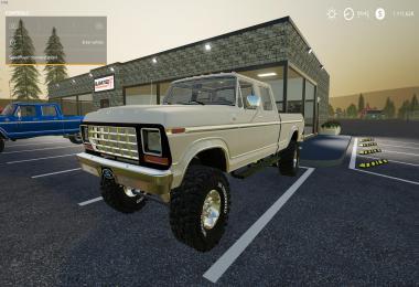FS19 Ford Crew Cab Classic v1.0.0.0