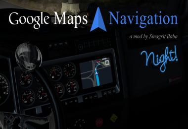 Google Maps Navigation Night Version v2.3