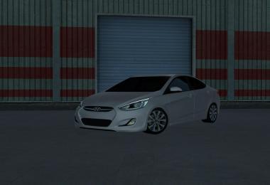 Hyundai Accent Blue 2010 v6 1.39