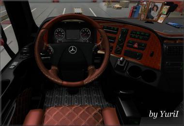 Interior for Mercedes Actros 2009 v1.3