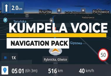 Kumpela Voice Navigation Pack v1.0