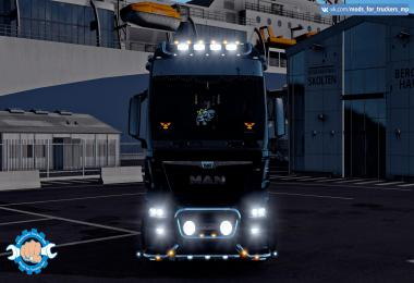 MAN TGX 6 Tuning (MP) 1.38 - 1.39