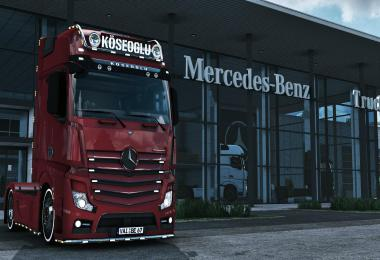 Mercedes Actros MP4 KOSEOGLU 1.39