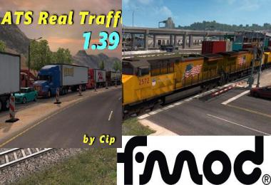 Real Traffic Density by Cip addon for mod Improved Trains v3.6.2
