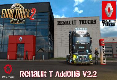 Renault T Addons v2.2 1.39