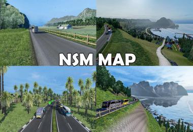 Rework Map NSM v1.4 by Gabriel Petra ETS2 1.39