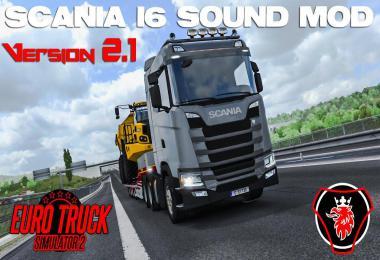 SCANIA NextGen I6 sound mod by Max2712 v2.1 1.39