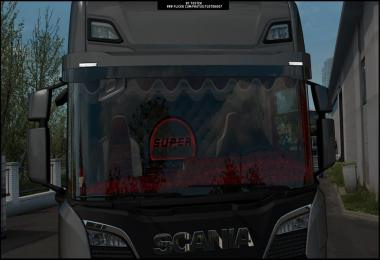 Scania NG S interior 1.38 - 1.39