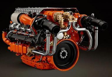 Scania V8 Openpipe 13 1.39