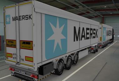 SKIN KRAKER WALKINGFLOOR MAERSK WHITE 1.39