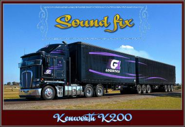 Sound fix for Kenworth K200 v1.0