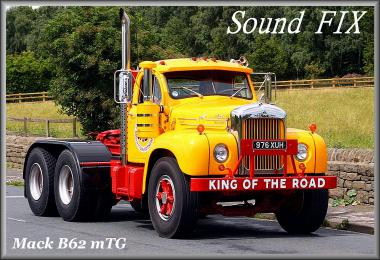 Sound fix for Mack B62 mTG (ATS) v1.1